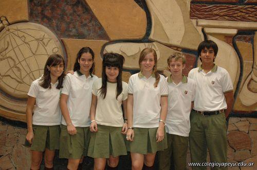 Alumnos de 2do año de la Secundaria con Excelencia Académica