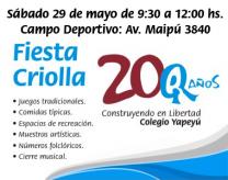Fiesta Criolla - Invitación