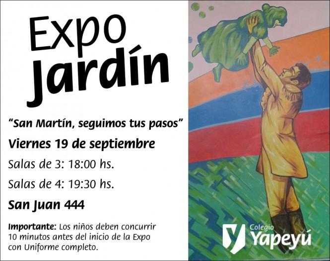 Expo Jardin Salas de 3 y 4