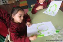 Pintando a Frida Kahlo en Salas de 5 1