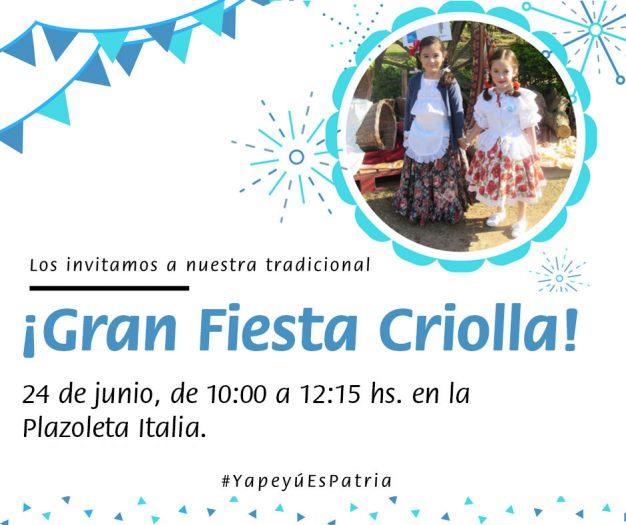 Gran Fiesta Criolla - Nueva fecha