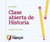 Clase abierta de Historia (1)