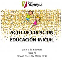 ACTO DE COLACIÓN EDUCACIÓN INICIAL (1)