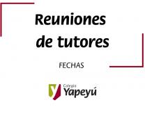 Reuniones de tutores