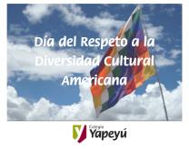Día del Respeto a la Diversidad Cultural Americana