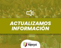 Actualizacion de Informacion