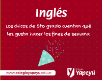 5to grado - Inglés