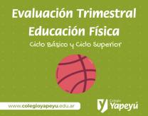 Evaluación Trimestral Ed. Física