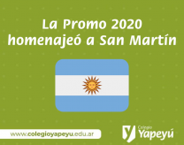 Homenaje a San Martín Promo 2020